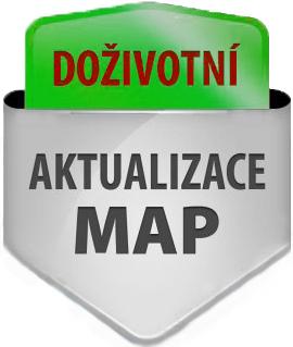 aktualizace mapy do navigace